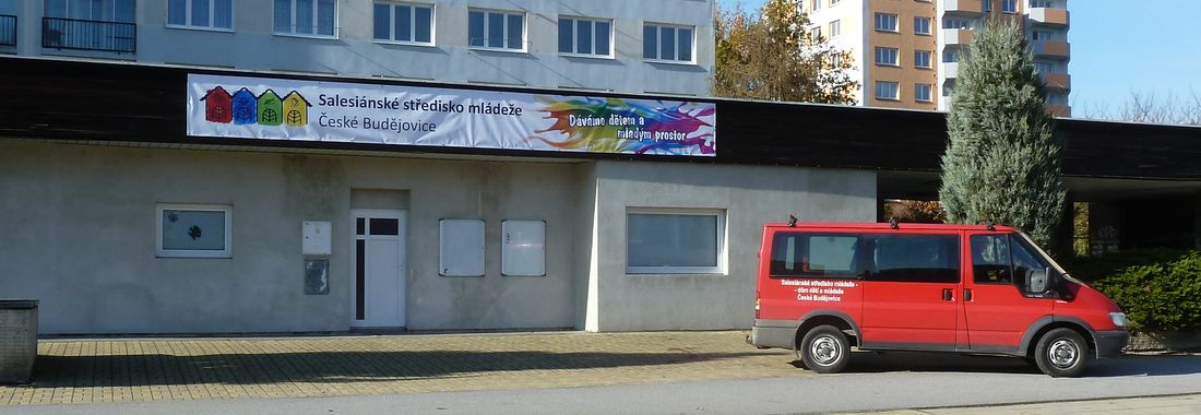 Nová klubovna na sídlišti Vltava
