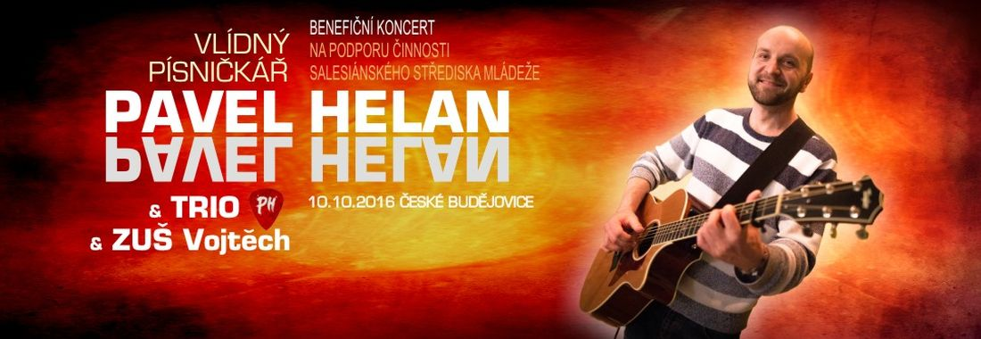 Benefiční koncert Pavla Helana